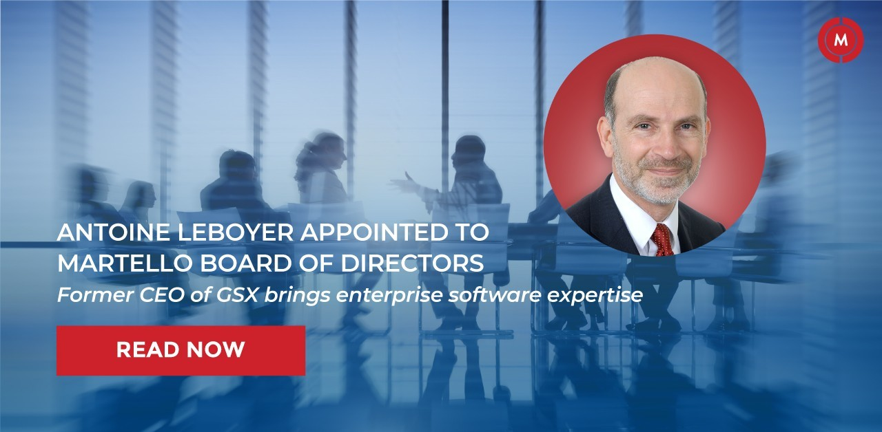 Antoine Leboyer appointed to Martello board of directors