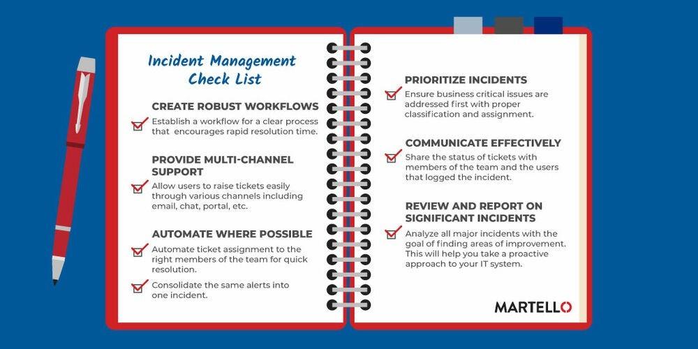 Incident Management Checklist
