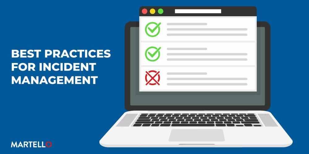 Best practices for incident management