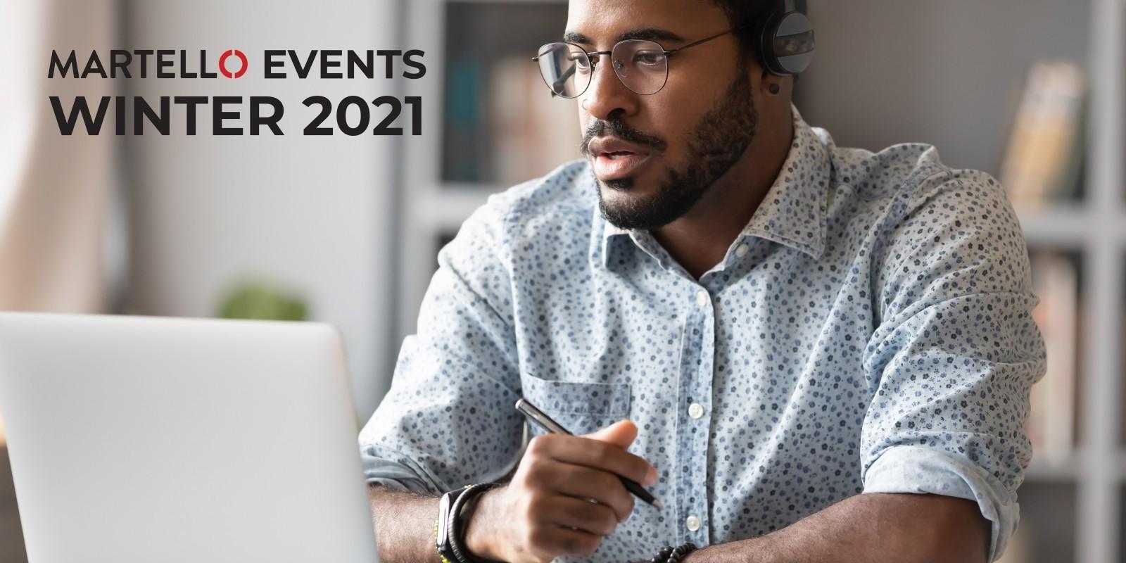 Martello events Winter 2021