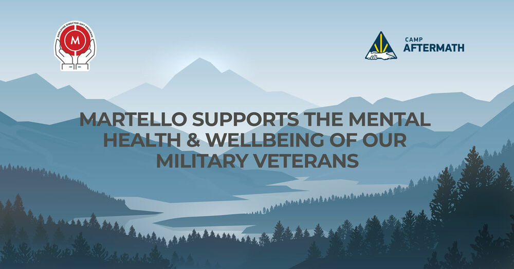 Martello supports the mental health and wellbeing of our military veterans