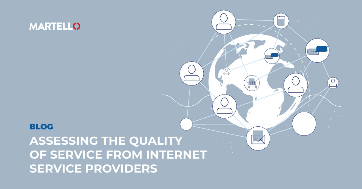 Assessing the Quality of Service from ISPs