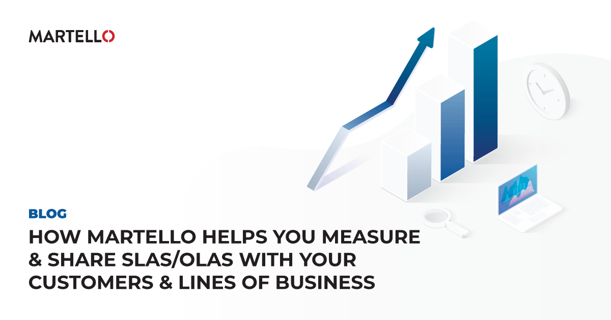 How Martello Helps You Measure & Share SLAs/OLAs with your Customers & Lines of Business